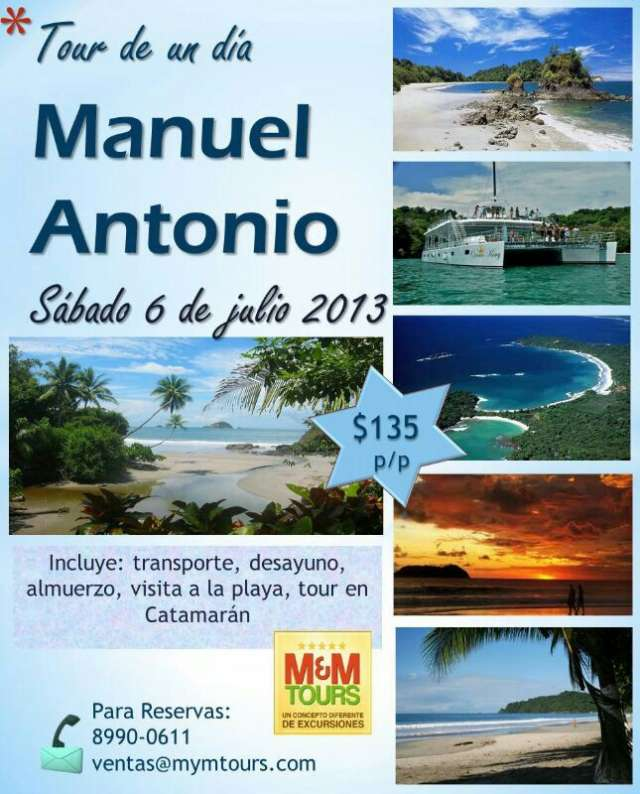 Manuel antonio, excursion. 6 de julio 2013.