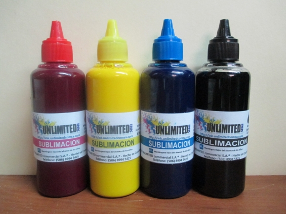 sublimar,tintas Unlimited Ink