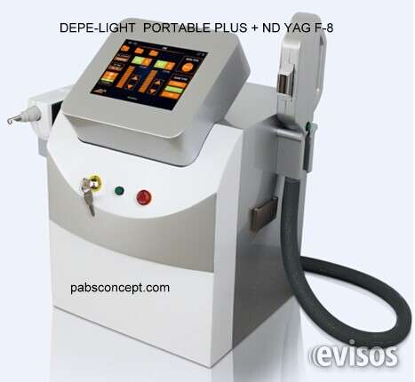 E-light + nd yag laser