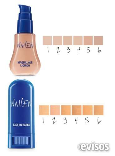 Nailen base liquida y en barra