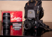Se vende cámara digital slr canon rebel xti