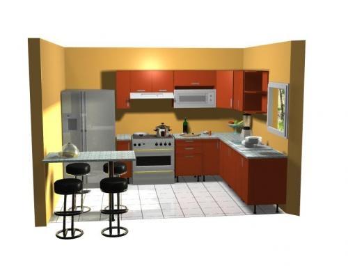 Muebles jepsa de cocina y mas 83211133 diseño 3d gratis en San José ...