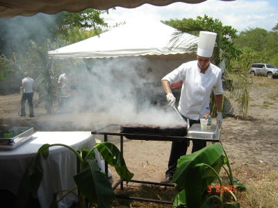 Catering service liberia events