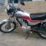 Vendo Moto Honda 125 cc año 2007 poco uso.