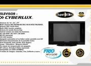 Televisores Ciberlux y Hyundai