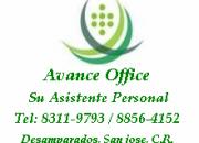 Servicios secretariales avance office
