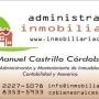 Administración de Condominios e Inmuebles en General