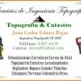 Servicios de Ingeniería en Topografía y Catastro