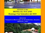 Tours de 1 dia al hotel el tucano