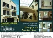 Vendo apartamento residencial bosques de santa ana