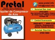 Alquiler de compresores de aire El Pretal