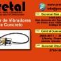 Alquiler de vibradores para concreto PRETAL