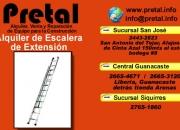 Alquiler de escalera extensible El Pretal