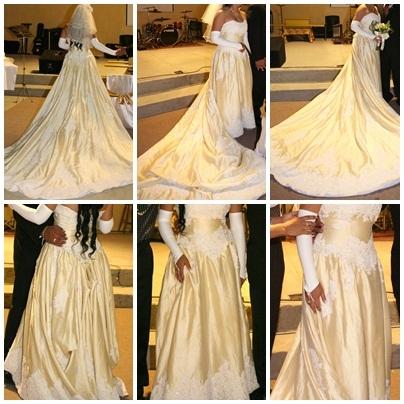 d0fc803a3f Se vende vestido de novia color champagne 50 mil colones en San José ...