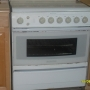 Cocina con seis quemadores y horno