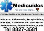 Cuidos geriátricos y pacientes terminales