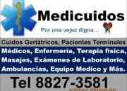 Enfermeria cuidos geritricos y de pacientes en estado terminal