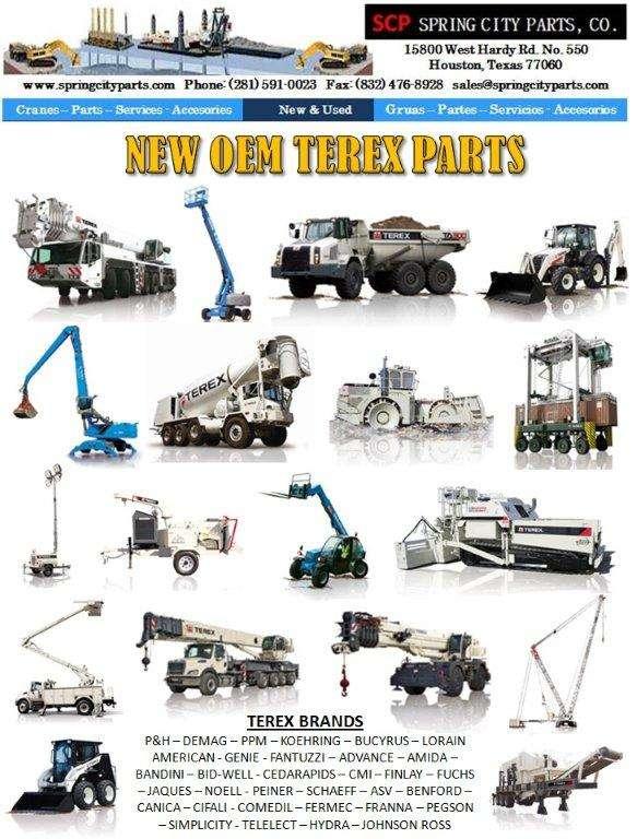 Terex - maquinaria pesada, gruas, refacciones y servicios