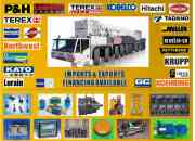 Gruas industriales nuevas, usadas, partes y acces…