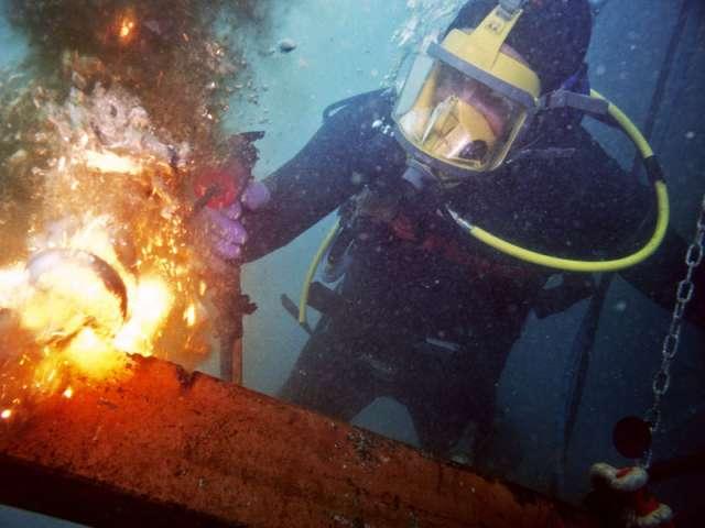 Trabajos submarinos e inspecciones submarinas