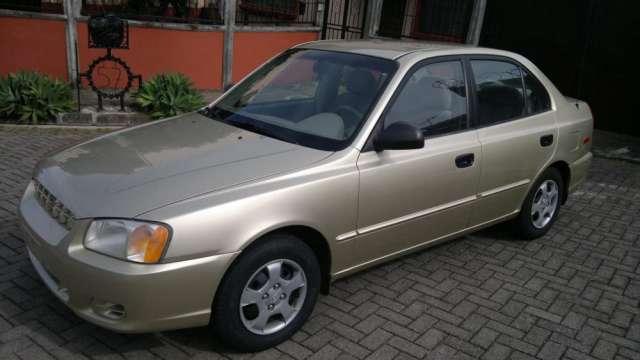 Hyundai Accent 2002 4 Puertas Automatico En Mercedes Autos 86593