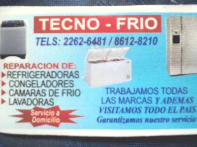 Reparacion de refrigeradoras,lavadoras,congeladores