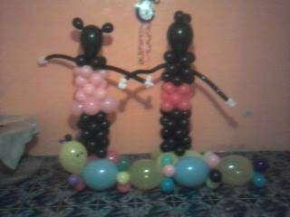 Claces de decoracion de globos kata