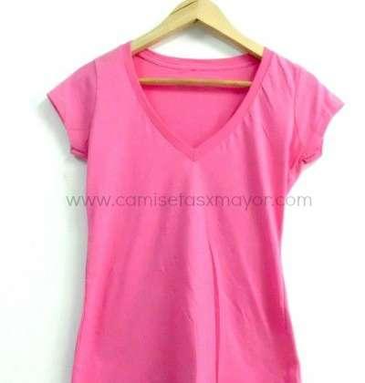 Mujer Lisas Mayor Por De Camisetas Al LqARj534