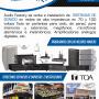 Mantenimiento preventivo y correctivo en sistemas de sonido en alta y baja impedancia