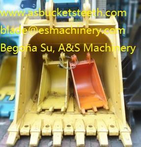 Elemento desgaste excavadora, partes repuestos maquinaria pesada
