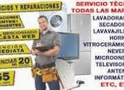 Reparaciones en todo tipo de electrodomesticos y refrigeracion general...