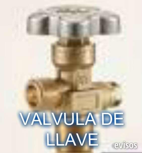 Valvula de llave para cilindro