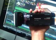 Camara de video panasonic hd-tm900 japonesa full hd
