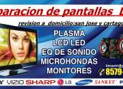 REPARACION DE TV LED SMART TV  PLASMA A  DOMICILIO SAN JOSE Y CARTAGO