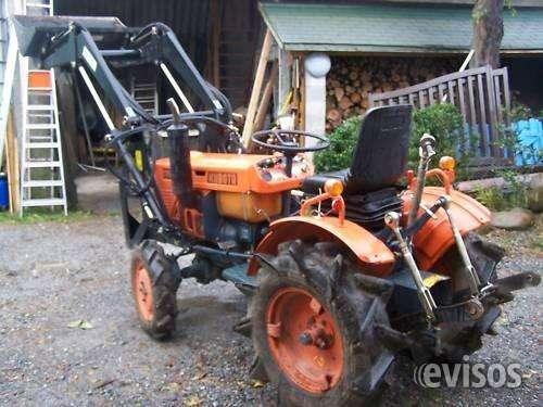 Mini tractores kubota b7001 + cargador