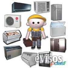 Servicios refrigeracion,a/c,electricidad,linea blanca,manten general