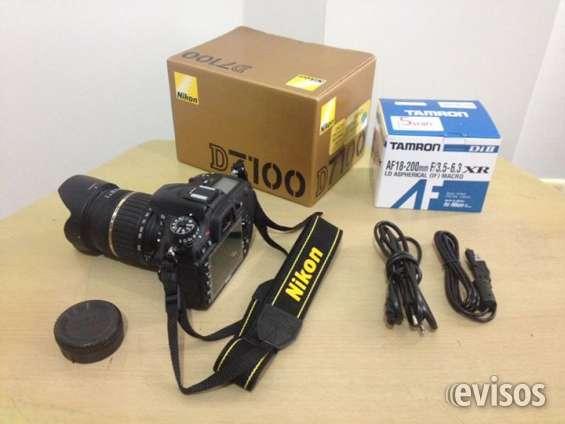 Nikon d7100 + tamron af18-200mm f/3.5-6.