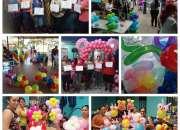 Curso de decoración con globos