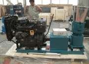 Peletizadora Meelko 360mm 55 hp Diesel para alfalfas y pasturas 600-700kg