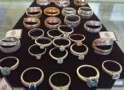anillos de compromiso oro blanco joyeria mundo anillos