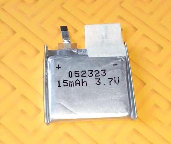 Batería de polímero de litio 3 7 v, 15 mah - modelo 052323
