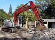 Demoliciones, movimientos de tierra