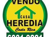 Casa heredia vendo en costa rica tel: 6081-9221