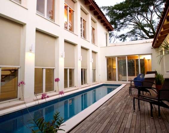Casa de lujo en venta en santa ana costa rica en elegante condominio