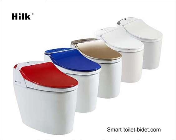 Intelligent smart toilet seat bidet cover