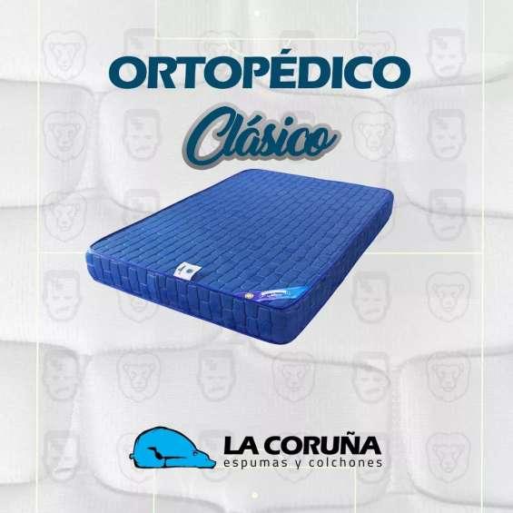 Vendo colchón de espuma ortopédico individual