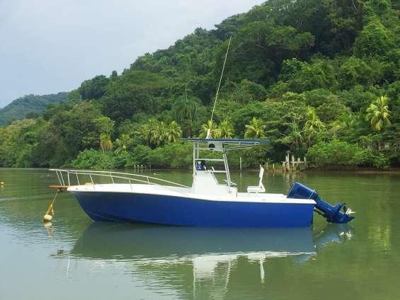 Bello bote de pesca/fiesta - remodelado, full equipo