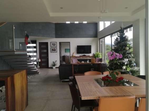 Espectacular casa en condominio san isidro heredia