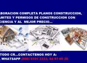 PLANOS CONSTRUCCION, TRAMITES, PERMISOS CONSTRUCCION MEJOR PRECIO EN TODO CR
