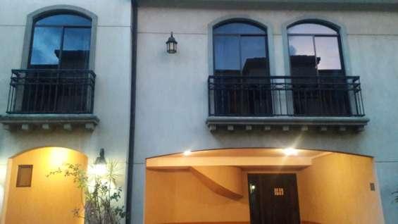 Casa alquiler condominio san joaquín de heredia #066